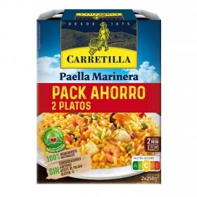 Paella marinera Carretilla pack 2 unidades de 250 g.