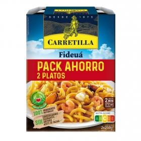 Fideuá Carretilla pack 2 unidades de 250 g.
