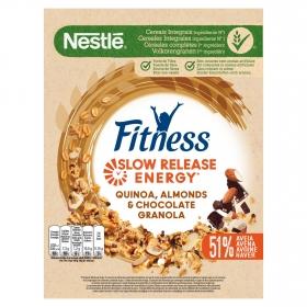 Granolas de avena con chocolate, almendras y quínoa Fitness Nestlé 300 g.