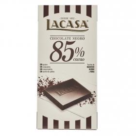 Chocolate negro 85% Lacasa 100 g.