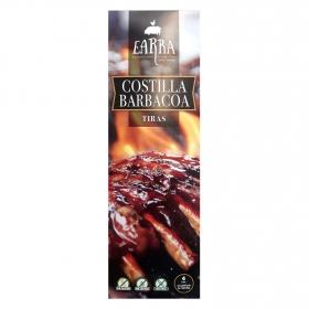 Costillas a la barbacoa en tiras Earra sin gluten y sin lactosa 600 g.