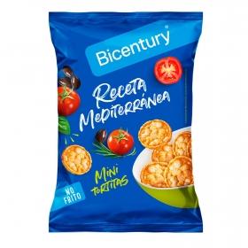 Tortitas de maíz receta mediterránea Bicentury 70 g.