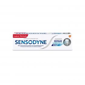 Dentífrico para dientes sensibles Repair and Protect Blanqueante Sensodyne 75 ml.