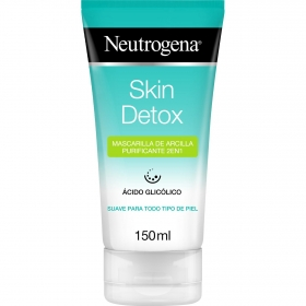 Mascarilla de arcilla purificante 2en1 Skin Detox Neutrogena 150 ml.