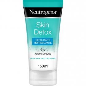 Exfoliante refrescante Skin Detox Neutrogena 150 ml.
