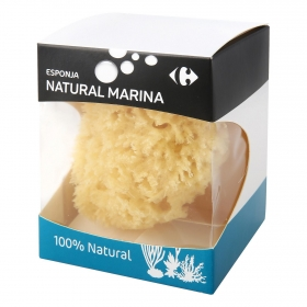 Esponja de baño natural marina Carrefour 1 ud.