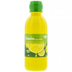 Aderezo de limón Carrefour 250 ml.