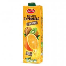 Naranjas exprimidas con kiwi Juver 1 l.