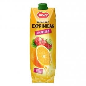 Naranjas exprimidas con fresa Juver 1 l.
