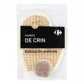 Guante de crin Carrefour 1 ud.