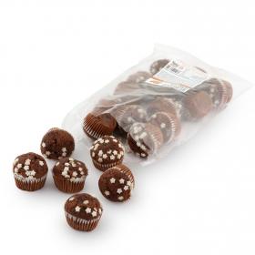 Magdalena mini rellena doble chocolate 350 g