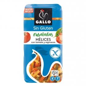 Espirales de tomate y espinacas Gallo sin gluten 500 g.