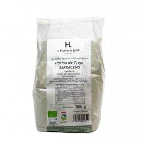 Harina de trigo sarraceno ecológica el Horno de Leña 500 g.