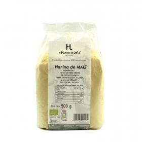 Harina de maíz ecológica el Horno de Leña 500 g.