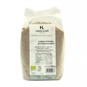 Harina de avena integral ecológica el Horno de Leña 500 g.