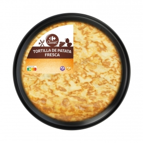 Tortilla de patata sin gluten Carrefour 600 g.