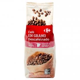 Café grano descafeinado Carrefour 500 g.