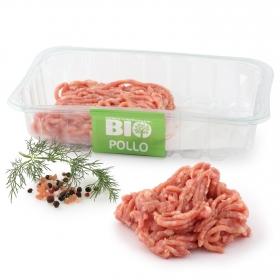 Preparado de carne picada de pollo ecológica Carrefour Bio 320 g