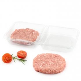 Hamburguesa de pollo ecológica Carrefour Bio 2x115 g