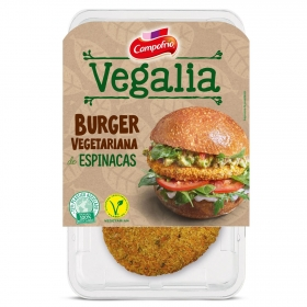 Burguer vegetariana de espinacas Campofrío vegalia 160 g.