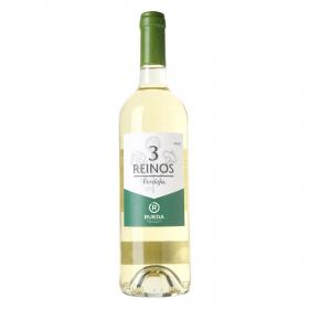 Vino D.O. Rueda blanco verdejo Tres Reinos 75 cl.
