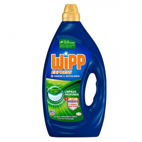 Detergente líquido combate malos olores Wipp Express 66 lavados.
