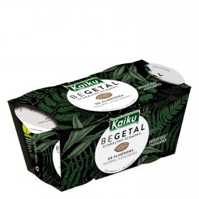 Preparado de almendra natural azucarado Begetal Kaiku sin lactosa pack de 2 unidades de 115 g.