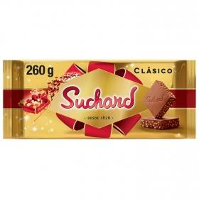 Turrón de chocolate crujiente Suchard 260 g.
