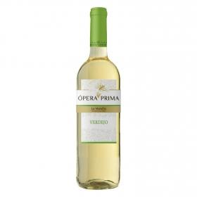Vino D.O. La Mancha blanco verdejo Ópera Prima 75 cl.