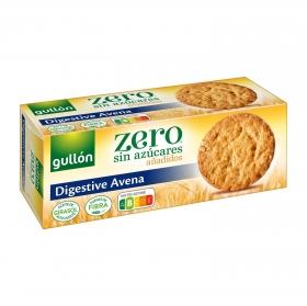 Galletas de avena sin azúcares añadidos Digestive Gullón 410 g.