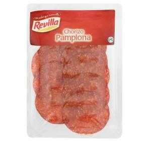Chorizo extra pamplona loncheado Revilla envase 100 g