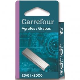 Blister 2000 Grapas 26/6 Carrefour
