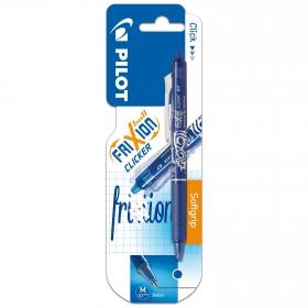 Bolígrafo Borrable Retractil Frixion Clicker Azul