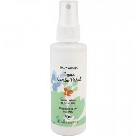 Crema cambio pañal calma y prepara la piel del bebé Baby Natura 70 ml.