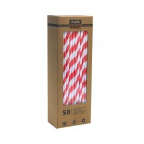Canutillos Papel NUPIK 50 ud - Bicolor