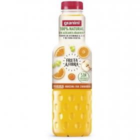 Zumo de naranja, manzana, uva y zanahoria Granini sin azúcar añadido botella 750 ml.