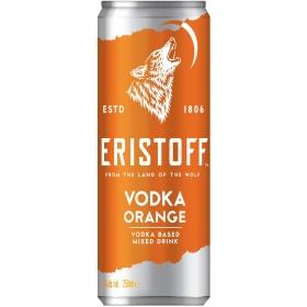 Combinado Eristoff wodka naranja lata de 25 cl.