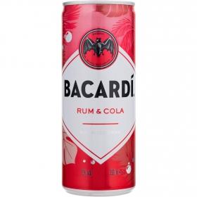 Combinado Bacardí Carta blanca ron cola Lata 25 cl.