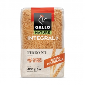 Fideo nº1 integral Gallo 400 g