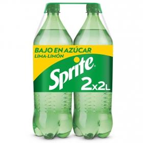 Refresco de lima-limón Sprite con gas pack de 2 botellas de 2 l.