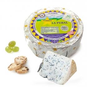 Queso de vaca semicurado azul La peral pieza de 375 g aprox