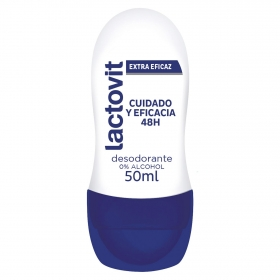 Desodorante roll-on unisex Lactovit 50 ml.