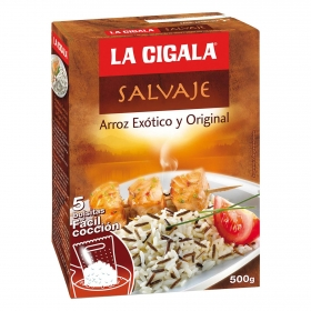 Arroz salvaje La Cigala 500 g.