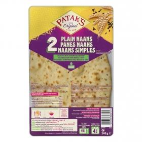 Pan hindú Naans Patak's pack 2 unidades de 120 g.