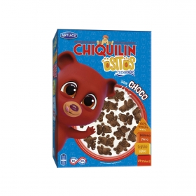 Galletas de cereales con chocolate Ositos Chiquilín 450 g.