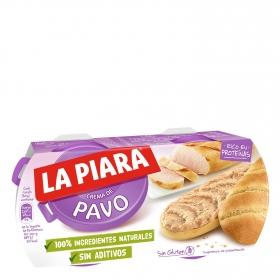 Paté de pavo La Piara 125 g.