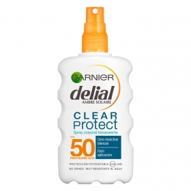 Solar corporal clear protect FP 50+ Delial 200 ml.