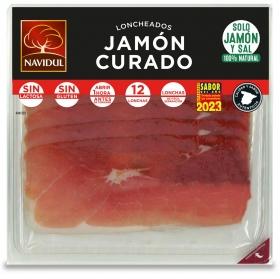 Jamón curado en lonchas Navidul 180 g