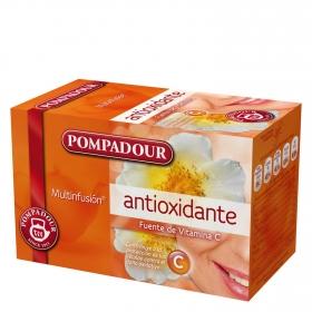 Infusión antioxidante en bolsitas Pompadour 20 ud.