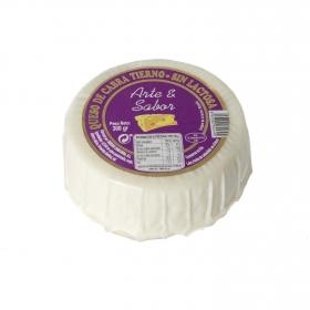Queso de cabra tierno sin lactosa Arte y Sabor pieza 300 g